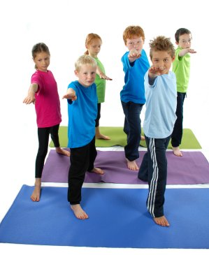 Yoga for Kids - Warrior Pose